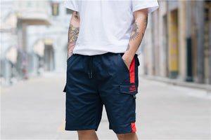 Magic Declaration Side Stripe Casual Shorts - Clout Collection High Fashion Streetwear Men's and Women's