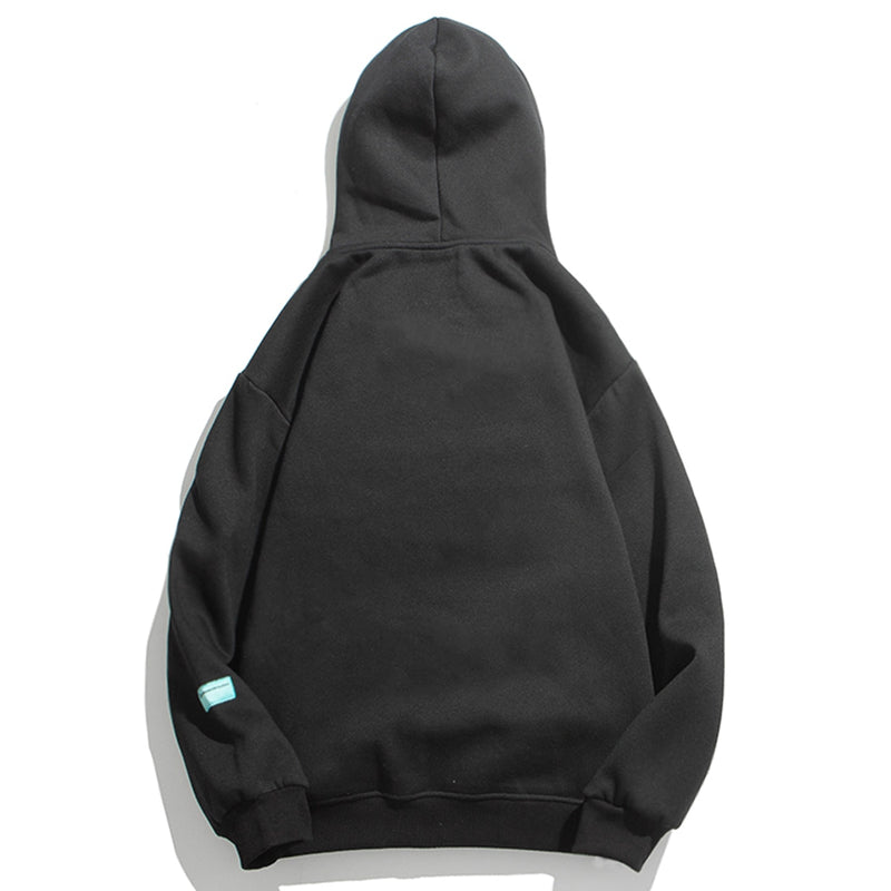 SirQlo 'Concise But Not Simple' Drawstring Hoodie