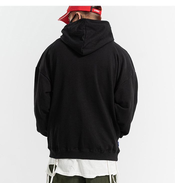 Katakana Abstract Pullover Hoodie