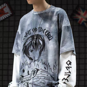 Extreme Aesthetic 'Rights and Wrongs' Two-Piece Long Sleeve Tee