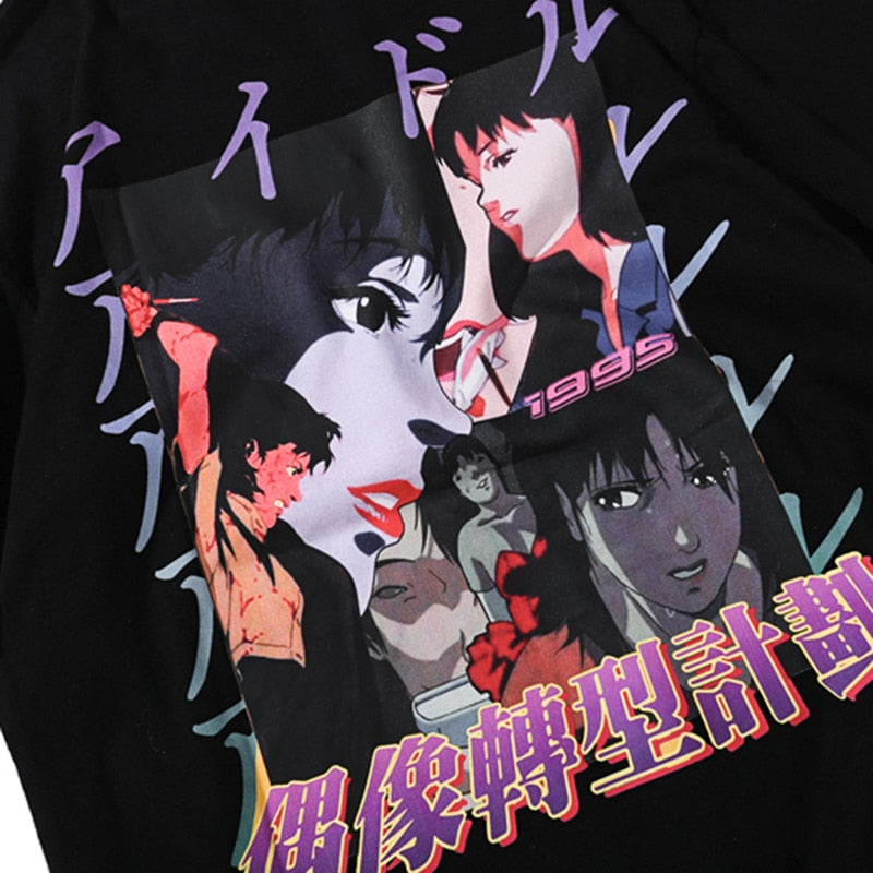 Perfect Blue Homage Cotton T-Shirt