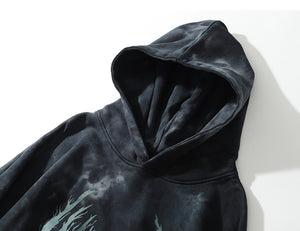 Kendrick Distressed Cotton Hoodie