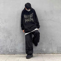 Negative Youth Oversize Cotton Hoodie