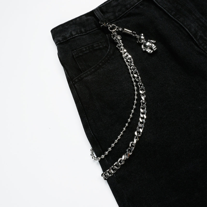 All Out 'RAGE' Black Denim Jeans
