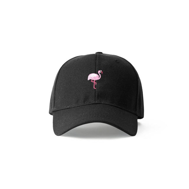 Flamingo Dad Hat - Clout Collection High Fashion Streetwear Men's and Women's