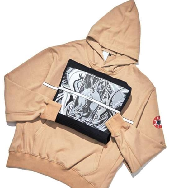 Anime Print Oversized Hoodie - CLOUT COLLECTION