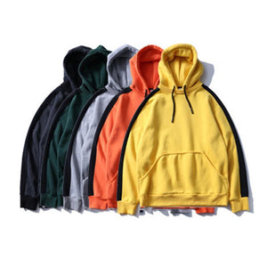 Men's Striped Casual Streetwear Hoodie - Clout Collection High Fashion Streetwear Men's and Women's
