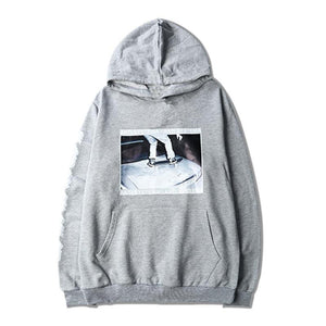 Anti-Systema Graphic Hoodie - Clout Collection High Fashion Streetwear Men's and Women's