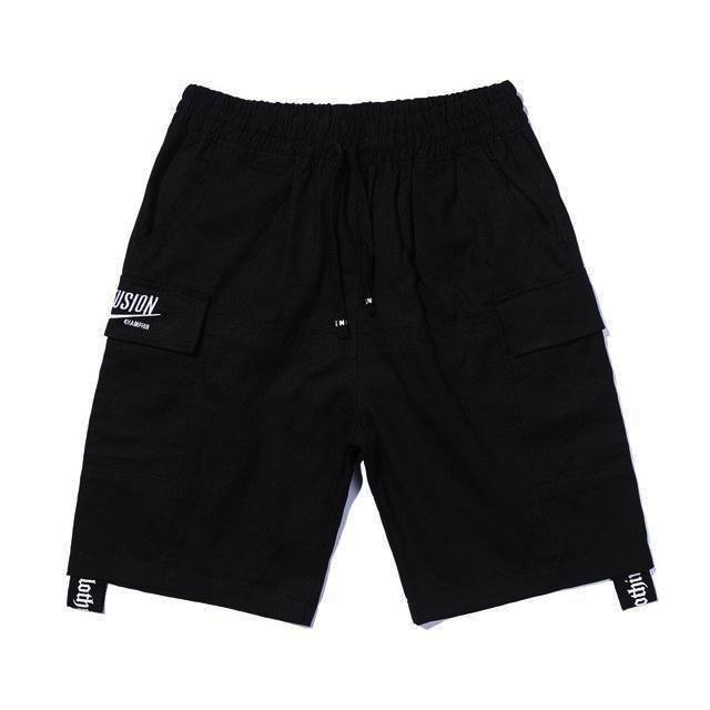 Re'Fusion Cargo Shorts - Clout Collection High Fashion Streetwear Men's and Women's