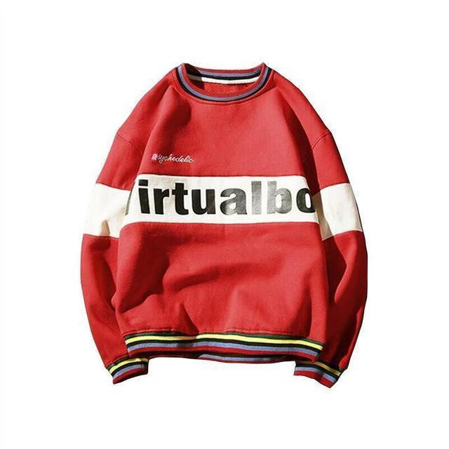 VirtualBoy Vintage Cotton Sweater - Clout Collection High Fashion Streetwear Men's and Women's