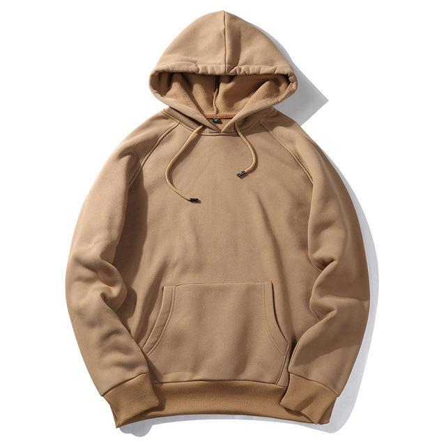 Basic Pullover Hoodie - Multiple Colors - CLOUT COLLECTION