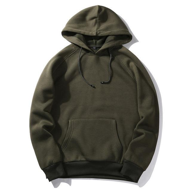 Basic Pullover Hoodie - Multiple Colors - Clout Collection High Fashion Streetwear Men's and Women's