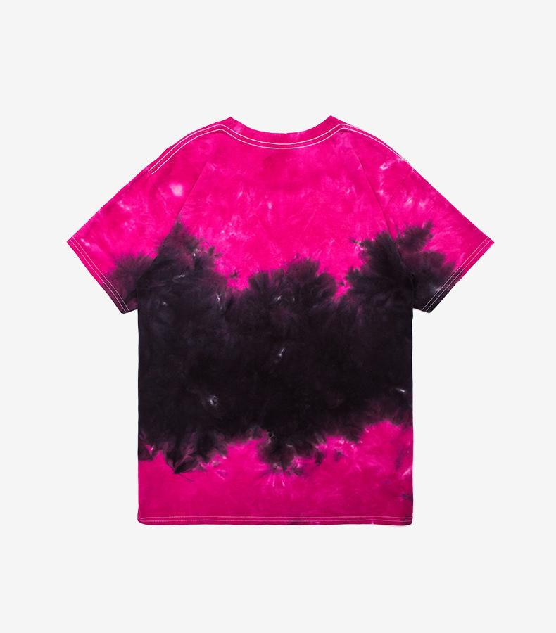 Tie Dye T-Shirt Two Tone - Clout Collection High Fashion Streetwear Men's and Women's