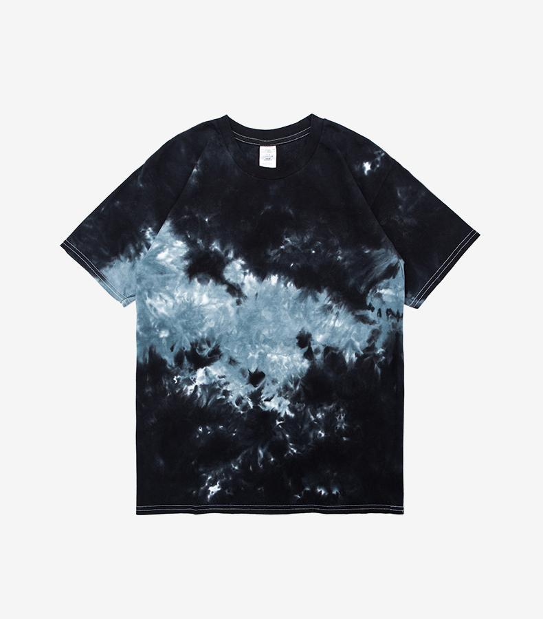 Tie Dye T-Shirt Two Tone - CLOUT COLLECTION