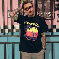 Native Philly Graphic T-Shirt - Clout Collection High Fashion Streetwear Men's and Women's