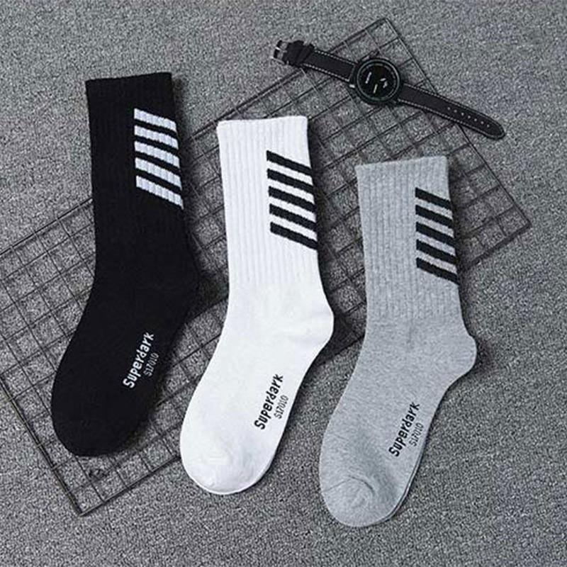 Corporal Socks Pack of Three in Black, White, or Gray - Clout Collection High Fashion Streetwear Men's and Women's