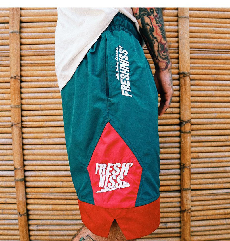 Fresh'Niss Casual Basketball Shorts - Clout Collection High Fashion Streetwear Men's and Women's