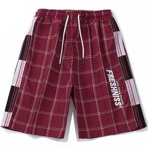 Fresh'Niss Summer Plaid Shorts - CLOUT COLLECTION