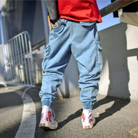 South Side Denim Joggers - CLOUT COLLECTION