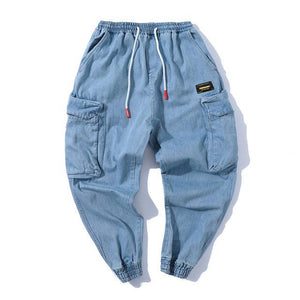 South Side Denim Joggers - Clout Collection High Fashion Streetwear Men's and Women's