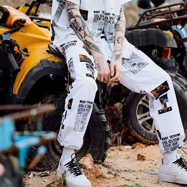 Extreme Aesthetic Adjustable Joggers - CLOUT COLLECTION