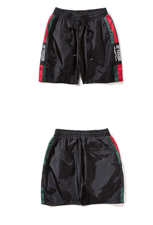 Re'Fusion Embroidered Summer Shorts - Clout Collection High Fashion Streetwear Men's and Women's