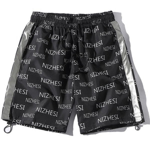 Nizhesi 3M-Reflective Athletic Shorts - Clout Collection High Fashion Streetwear Men's and Women's