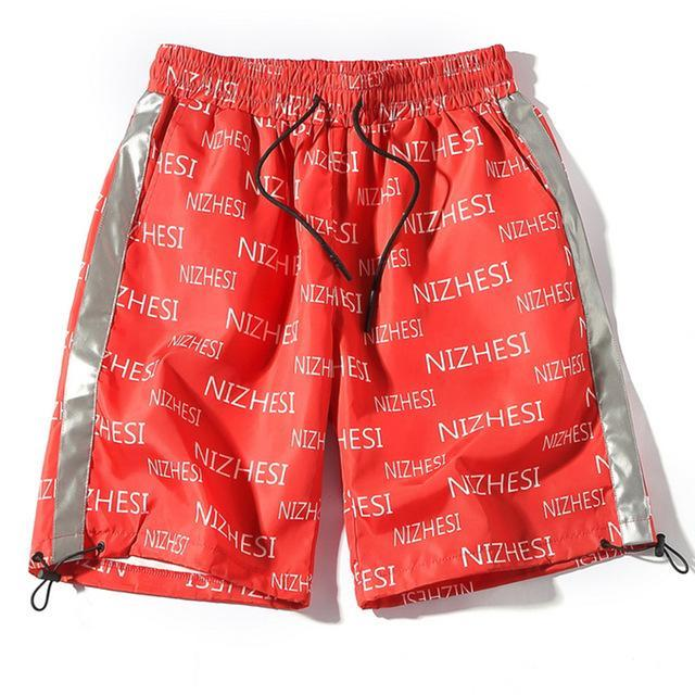 Nizhesi 3M-Reflective Athletic Shorts - CLOUT COLLECTION