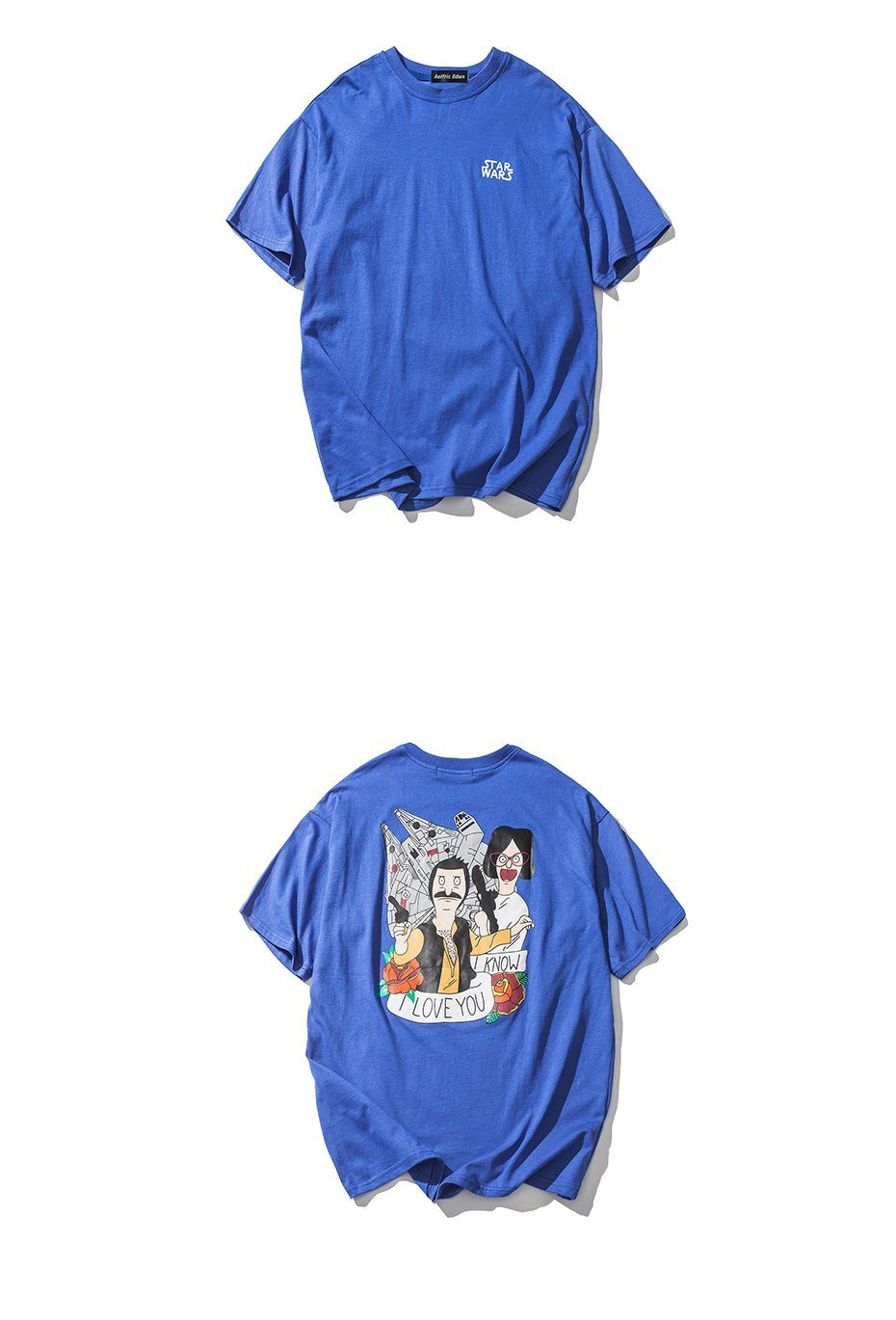 Bob\'s Burgers x Star Wars Collab TShirt – Clout Collection