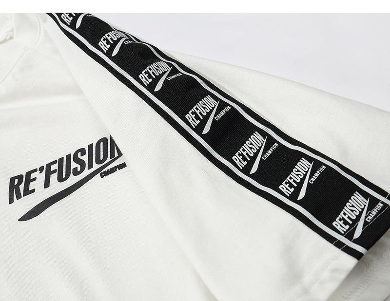 Dual Re'Fusion Graphic T-Shirt - Clout Collection High Fashion Streetwear Men's and Women's
