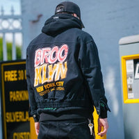 Urban Prophet Denim Work Jacket - Clout Collection High Fashion Streetwear Men's and Women's