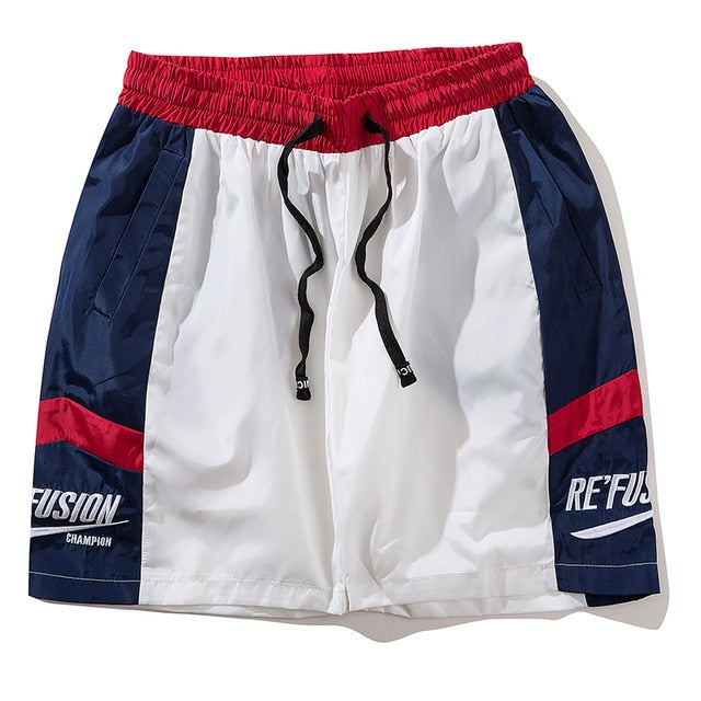 Re'Fusion Soccer Training Shorts - Clout Collection High Fashion Streetwear Men's and Women's