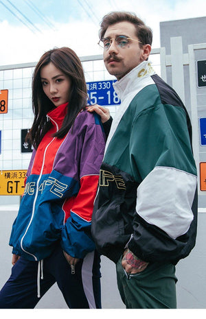Thug 4L Zip-Up Jacket - Clout Collection High Fashion Streetwear Men's and Women's