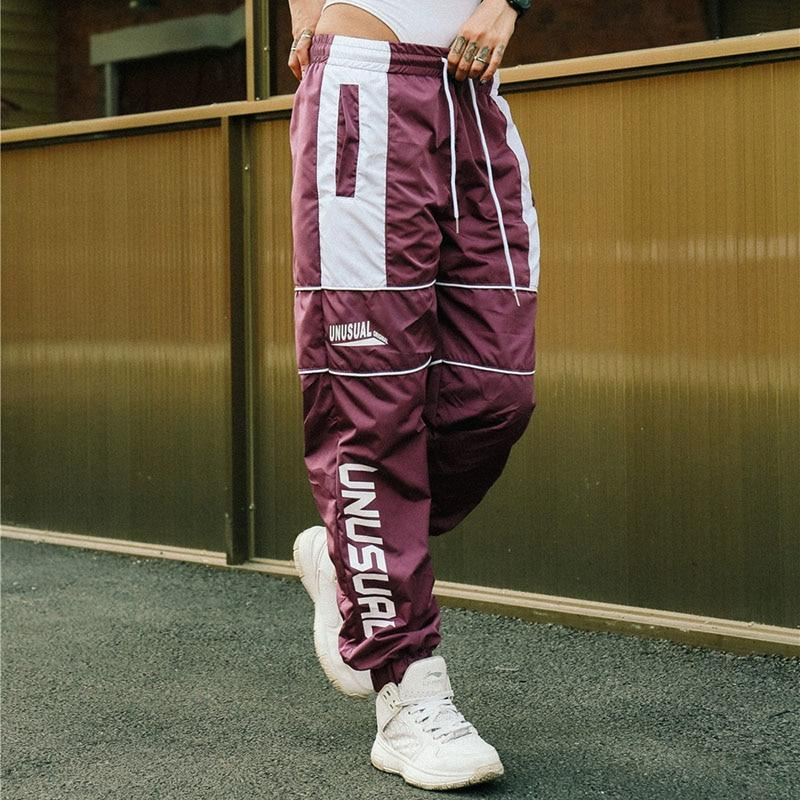 Unusual Original Linear Logo Track Pants - CLOUT COLLECTION