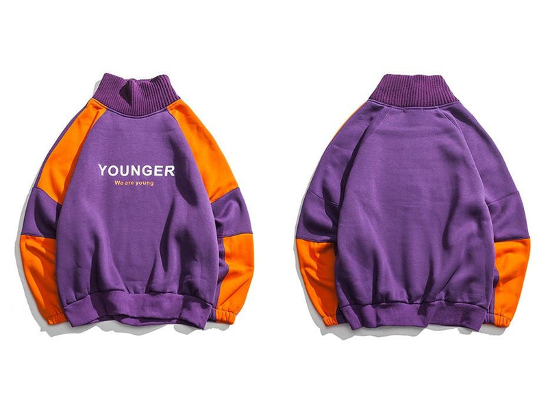 Younger Designs Pullover Sweater - Clout Collection High Fashion Streetwear Men's and Women's
