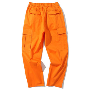 OK Collab Casual Cargo Pants - Clout Collection High Fashion Streetwear Men's and Women's