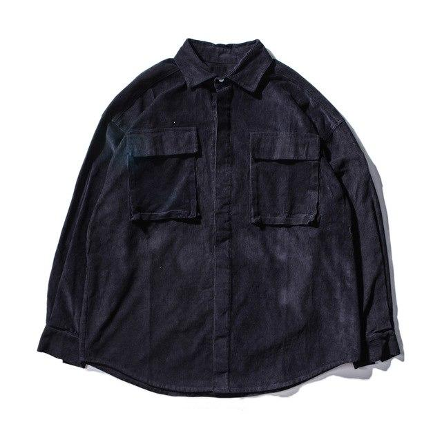 Extreme Vintage Corduroy Button-Up - CLOUT COLLECTION