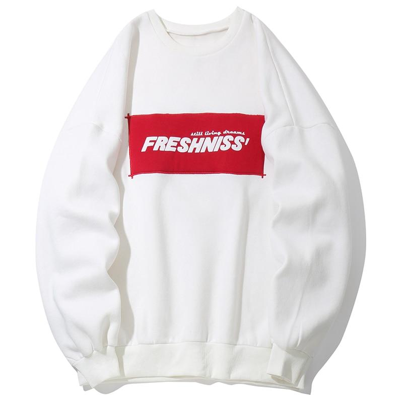 Fresh'Niss Casual Crewneck Sweater - CLOUT COLLECTION