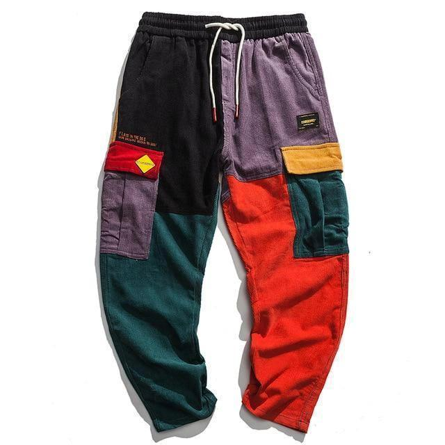 Retro Clout Corduroy Cargo Joggers - CLOUT COLLECTION