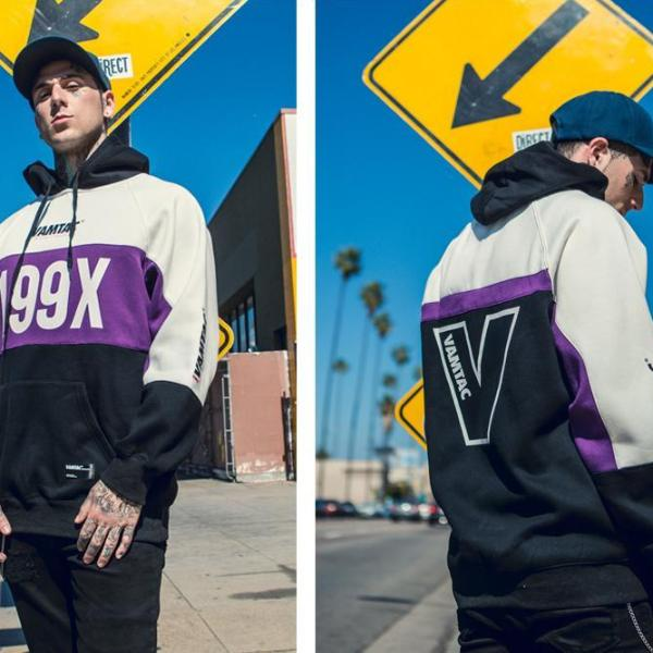 Vamtac 199X Pullover Hoodie - CLOUT COLLECTION