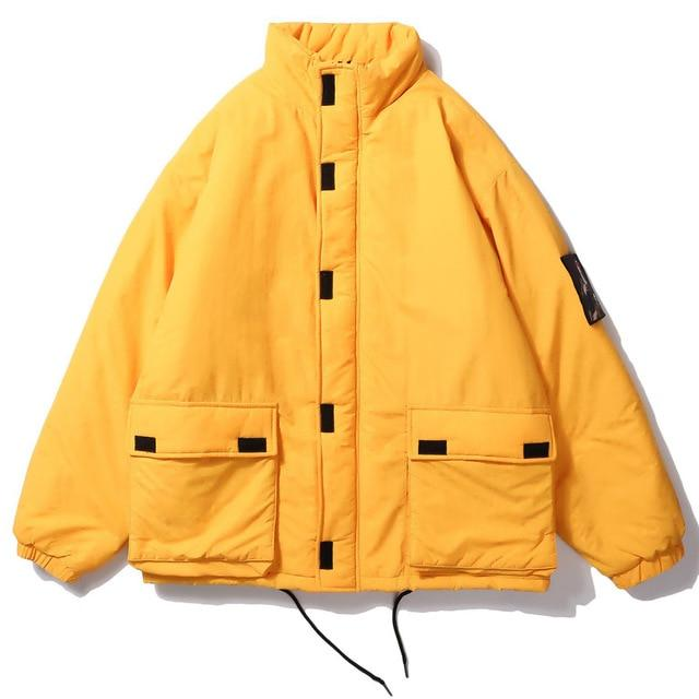 Retro Clout Parka with Removeable Patch - CLOUT COLLECTION