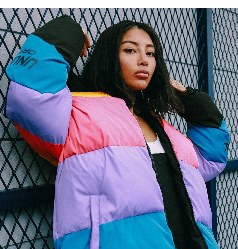 Unusual Original Down Puffer Jacket - Clout Collection High Fashion Streetwear Men's and Women's