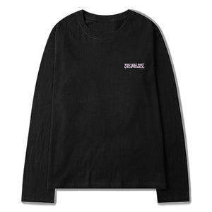 Long Sleeve Tee with Exclusive Love Print - Clout Collection High Fashion Streetwear Men's and Women's