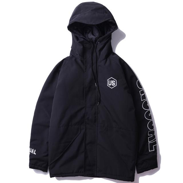 Unusual Original Tactical Coat with Hood - Clout Collection High Fashion Streetwear Men's and Women's