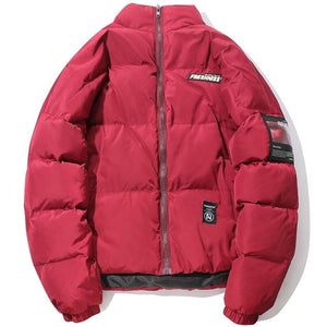Fresh'Niss Down Puffer with Sensual Side Patch - CLOUT COLLECTION