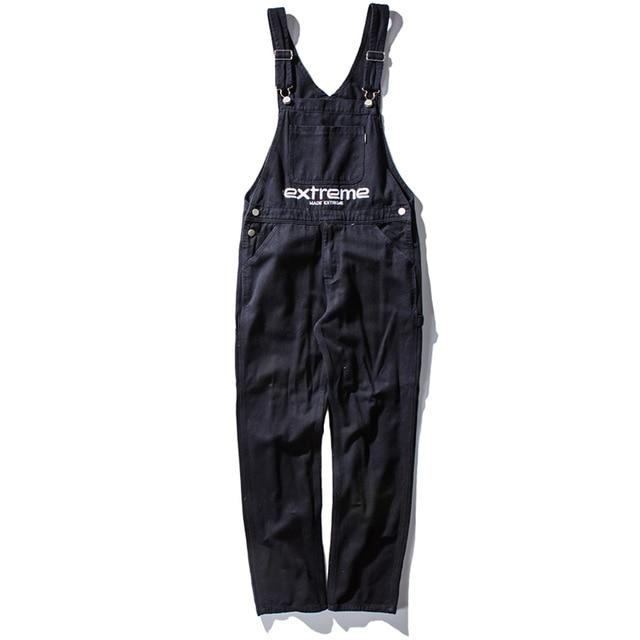Extreme Aesthetic Denim Overalls - Clout Collection High Fashion Streetwear Men's and Women's