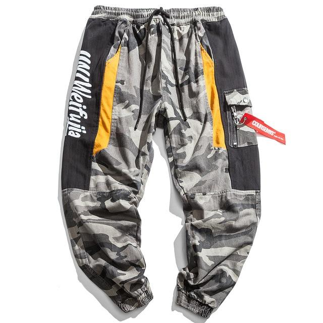 Cargo Military Joggers - Clout Collection High Fashion Streetwear Men's and Women's