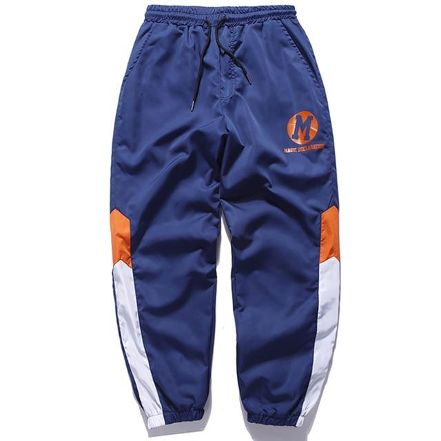 Striped Active Sweat Tracksuit Bottoms - CLOUT COLLECTION