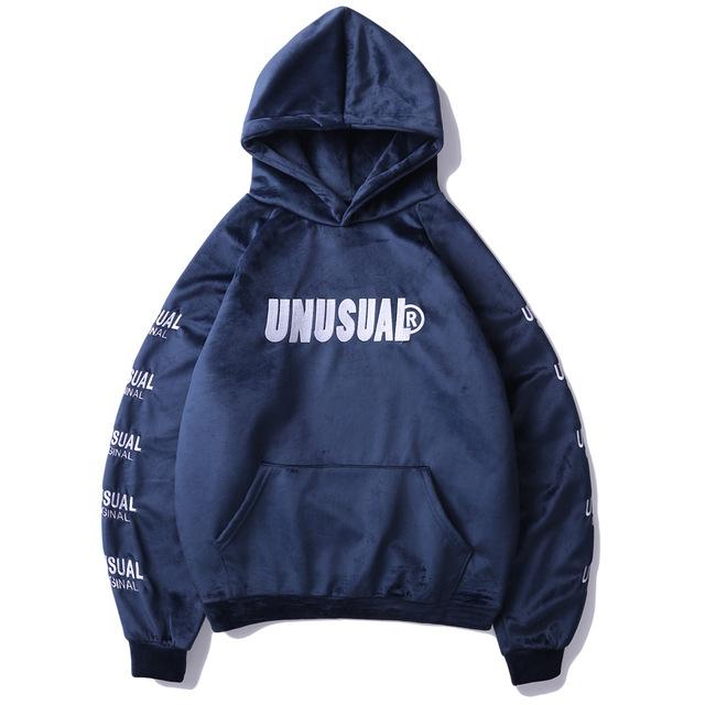 5bd79b358e1 Unusual Original Thermal Fleece Hoodie - Clout Collection High Fashion  Streetwear Men