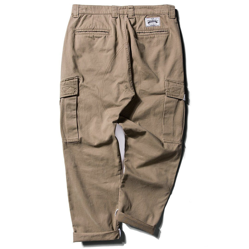 More Life Cargo Chino in Khaki or Black - Clout Collection High Fashion Streetwear Men's and Women's